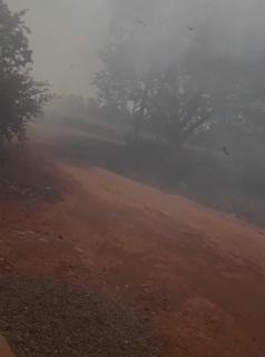 VÍDEO: moradores registram incêndio que dura mais de 5 horas em Campo Grande