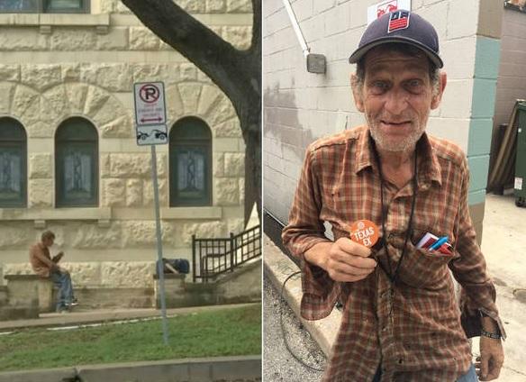 Morador de rua volta à faculdade 40 anos depois de abandonar estudos