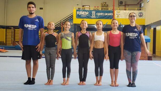 Nove ginastas de Campo Grande viajam para torneio nacional no Rio de Janeiro