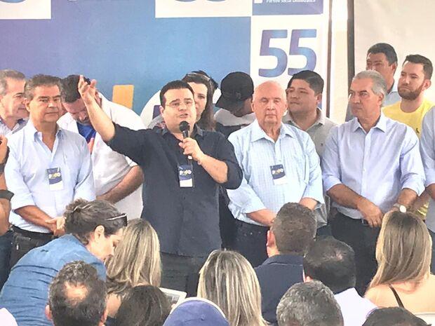 Nelsinho assume presidência do PSD em MS