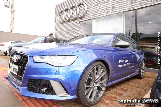Novidade em Campo Grande, Audi Sport RS 6 traz experiência das pistas para o dia a dia