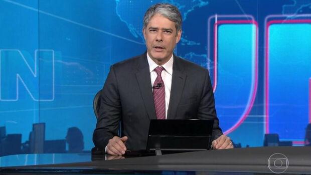 "Bonner chama Moro de ""ex-ministro"" no Jornal Nacional"