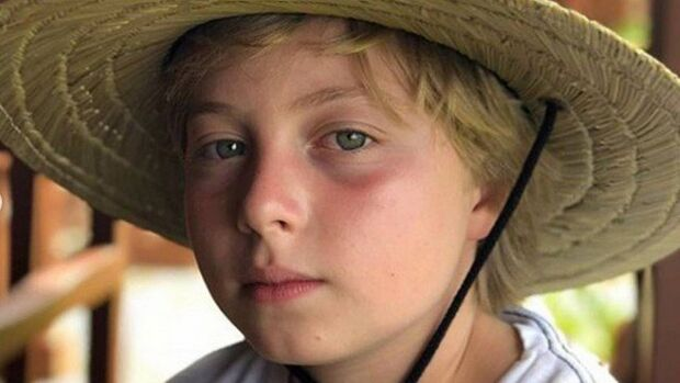 Benício, filho de Luciano Huck e Angélica, recebe alta hospitalar