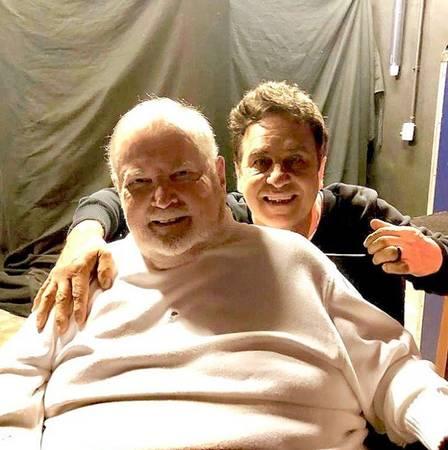 Aos 81 anos, Jô Soares reaparece em foto com Marcos Frota