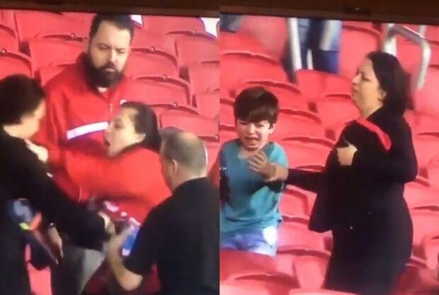 VÍDEO: Torcedores do Inter agridem e roubam camisa de mãe e filho gremistas