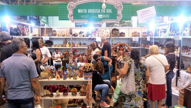 Artesanato de MS é sucesso de vendas na maior feira da América Latina