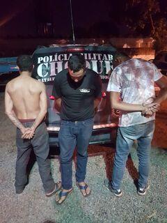 Após perseguição, três são presos e veículo apreendido em Campo Grande