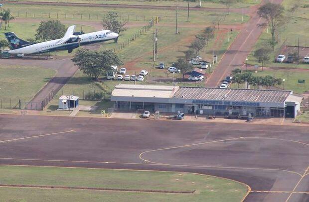 União corta R$ 30 milhões para reforma do Aeroporto de Dourados