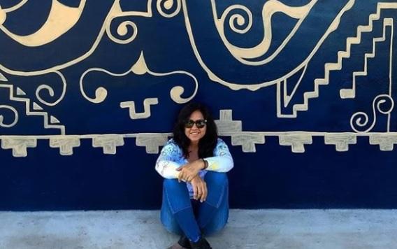 Em uma virada de ano novo, 'nasceu' a artista plástica autodidata reconhecida em MS
