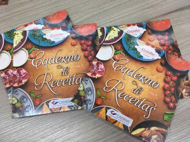 Cassems promove lançamento do primeiro volume de Livro de Receitas
