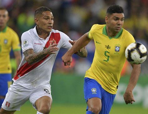 Peru broxa no final e Brasil é campeão da Copa América