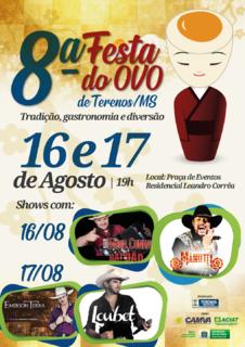 Festa do Ovo chega à 8ª edição com muita música, comida e muita festa