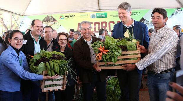Governo entrega patrulhas mecanizadas e anuncia R$ 22 milhões para agricultura familiar
