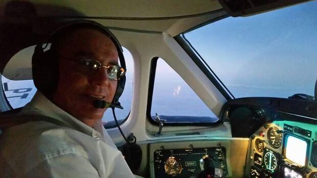 Piloto morre em voo para Campo Grande; co-piloto pousa o avião