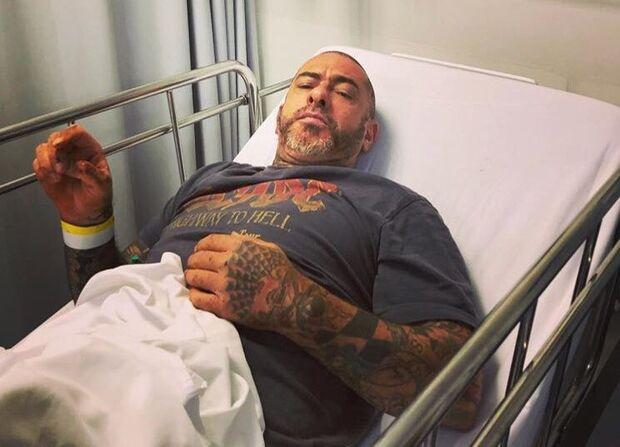 Henrique Fogaça é hospitalizado: 'dia de fraturar algumas costelas'