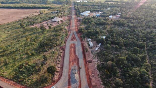 Prefeitura conclui duas rotatórias do macroanel e aguarda aval do DNIT para obra na BR-163