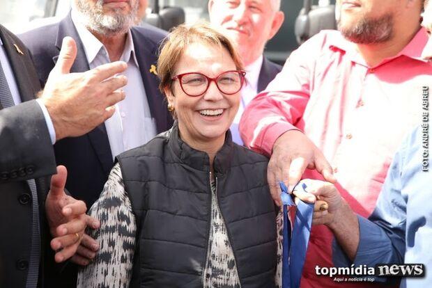 Ameaça de ataque terrorista dobra segurança da ministra Tereza Cristina