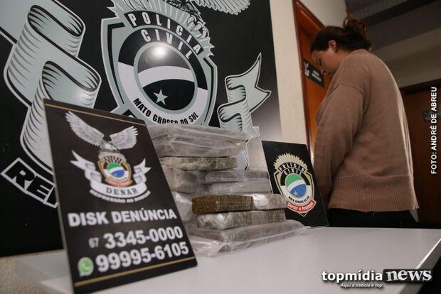 Presa com droga emprestou casa para sequestro de motorista de aplicativo