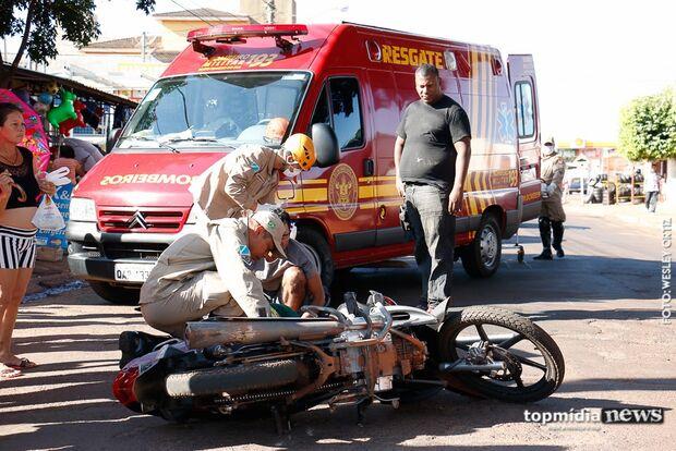 Idosa atropelada por motociclista morre no hospital