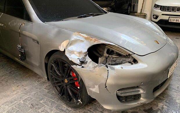 Condutor de veículo de luxo que matou idosa atropelada e fugiu sem prestar socorro é identificado