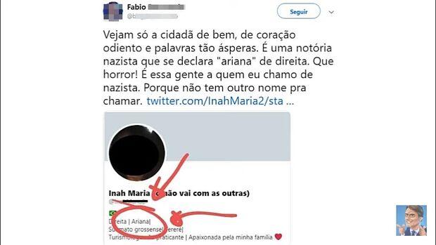 Ariana: jornalista confunde signo com 'raça' e chama internauta de 'nazista'