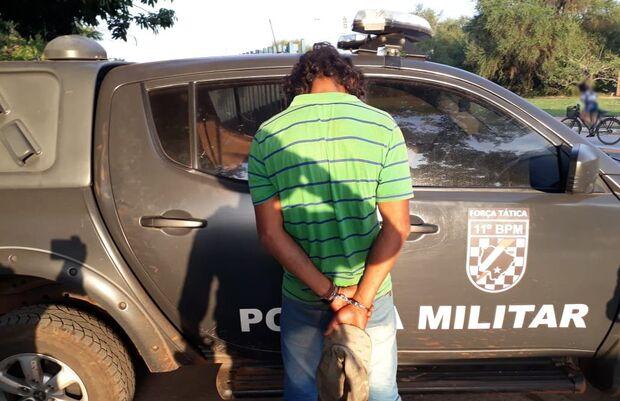 Polícia Militar captura autor de homicídio em Porto Murtinho