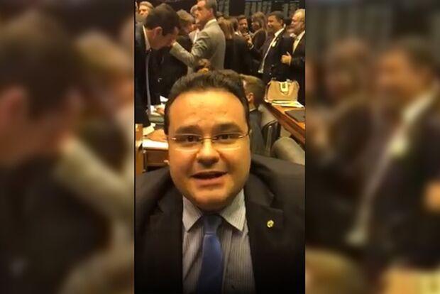 VÍDEO: Fábio Trad sugere criar PEC para prisão após 2ª instância; ideia é a mesma de Moro