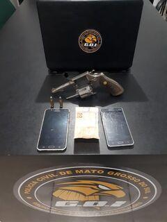 Em menos de 24 horas, dois são presos por porte ilegal de arma de fogo em MS