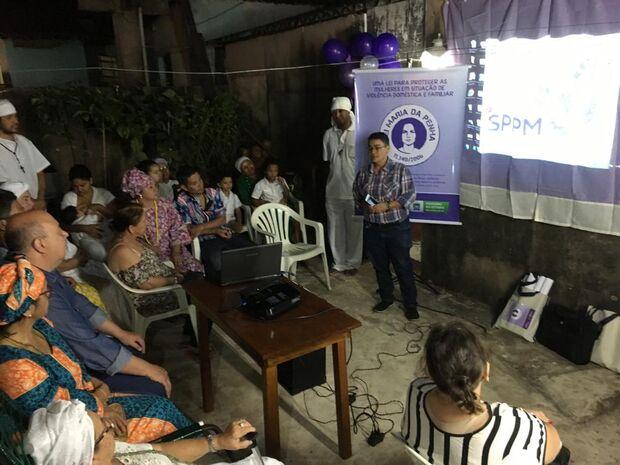 Projeto orienta sobre o combate à violência doméstica em terreiros religiosos na Capital