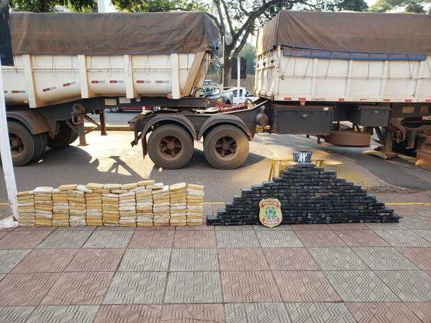 Operação Veteranos: PF prende três traficantes após apreender 265 kg de cocaína na fronteira