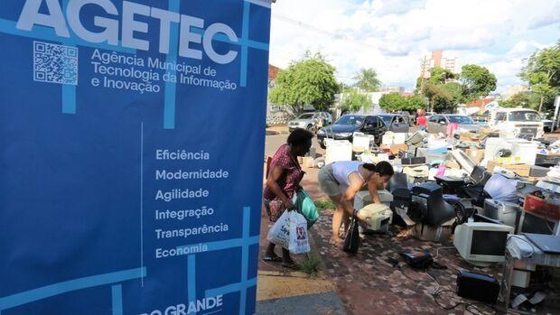 Prefeitura promove coleta de resíduos eletrônicos no próximo sábado na Lagoa Itatiaia