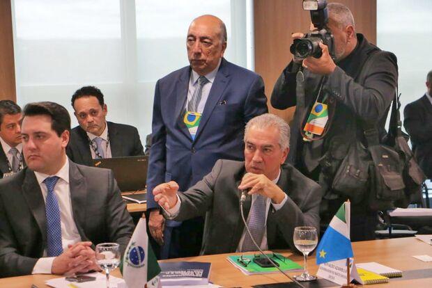 Reinaldo Azambuja defende esforço concentrado para assegurar ressarcimento da Lei Kandir