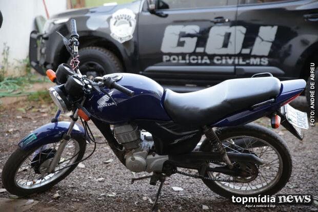 Homem tenta comprar moto com documento falso e acaba preso pela Polícia Civil