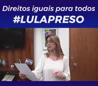 VÍDEO: Soraya Thronicke quer expulsar Lula das redes sociais