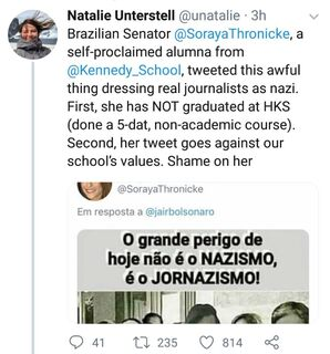 Na Lata: Soraya acusa imprensa, mas mente sobre currículo
