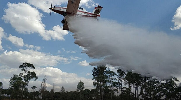 Estado terá aeronave e 34 bombeiros do DF para combate aos incêndios florestais