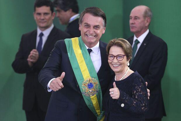 Ministra Tereza Cristina anuncia abertura de mercado para lácteos brasileiros