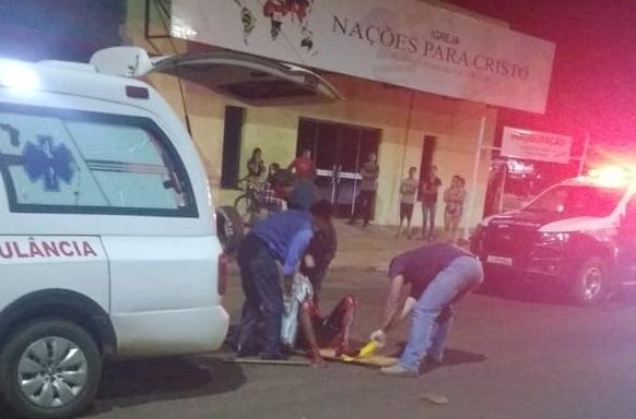Homem esfaqueado na cabeça foge de hospital, furta bicicleta e acaba na cadeia