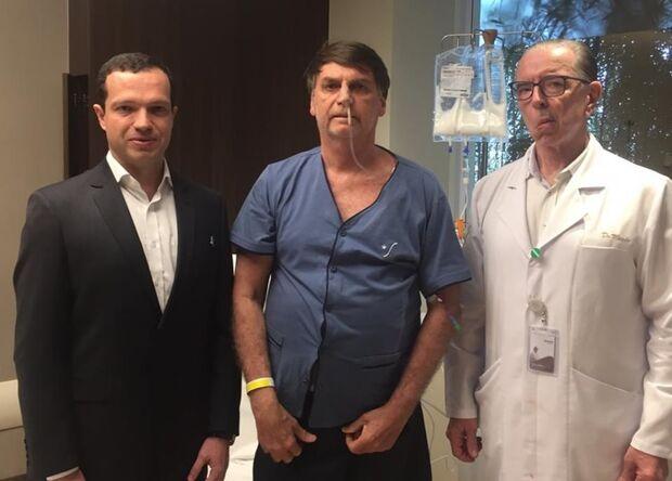 Bolsonaro terá avaliação da alimentação em hospital