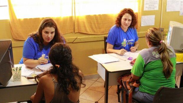 Assistência social realiza atendimento de beneficiários do Bolsa Família
