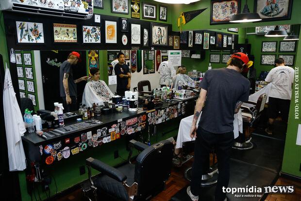 Segunda melhor do Brasil, barbearia muda de nome para divulgar Campo Grande no País