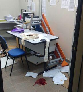 Paciente em surto esfaqueia enfermeiro no CRS Aero Rancho