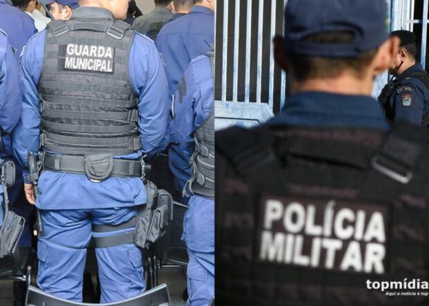 VÍDEO: policiais e guardas municipais 'quebram o pau' no centro de Campo Grande