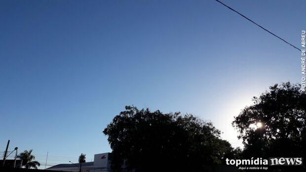 Calorão volta com força e sábado terá máxima de 34º C em Campo Grande