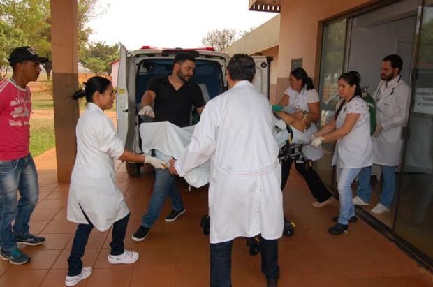 Homem é esfaqueado no peito e morre no Hospital da Vida em Dourados
