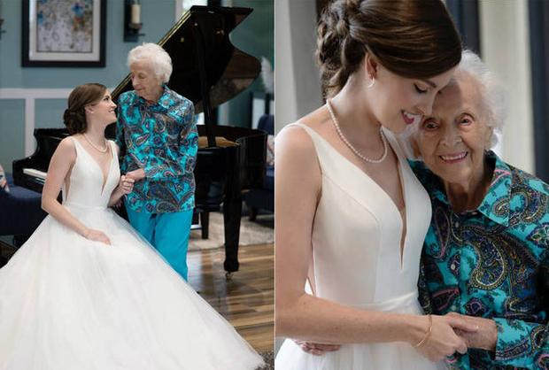 Noiva faz fotos com avó de 102 anos, e idosa morre dias depois