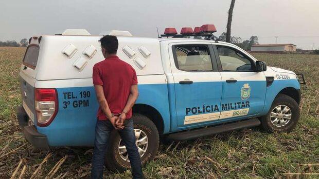 Trio suspeito de sequestrar motorista de aplicativo é preso na fronteira