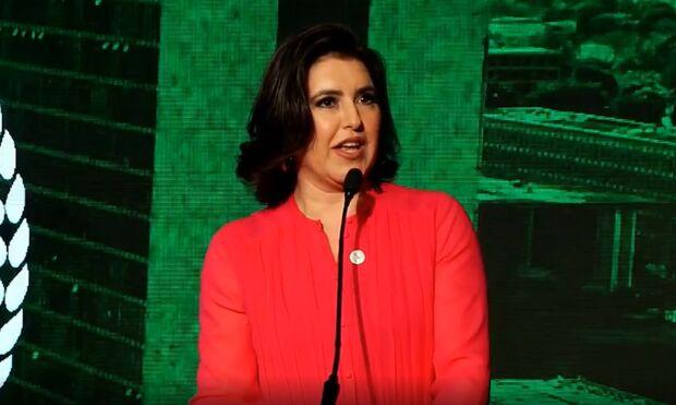 Simone Tebet é eleita melhor senadora do País