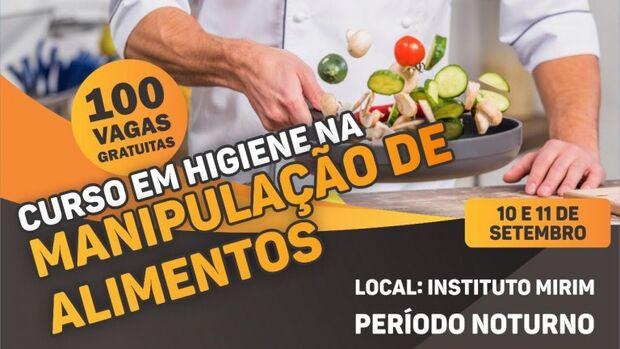 Funsat abre 100 vagas para curso de Higiene na Manipulação de Alimentos