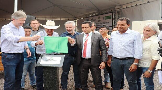 Três Lagoas ganha nova indústria, a primeira do MS a beneficiar fibra curta de celulose